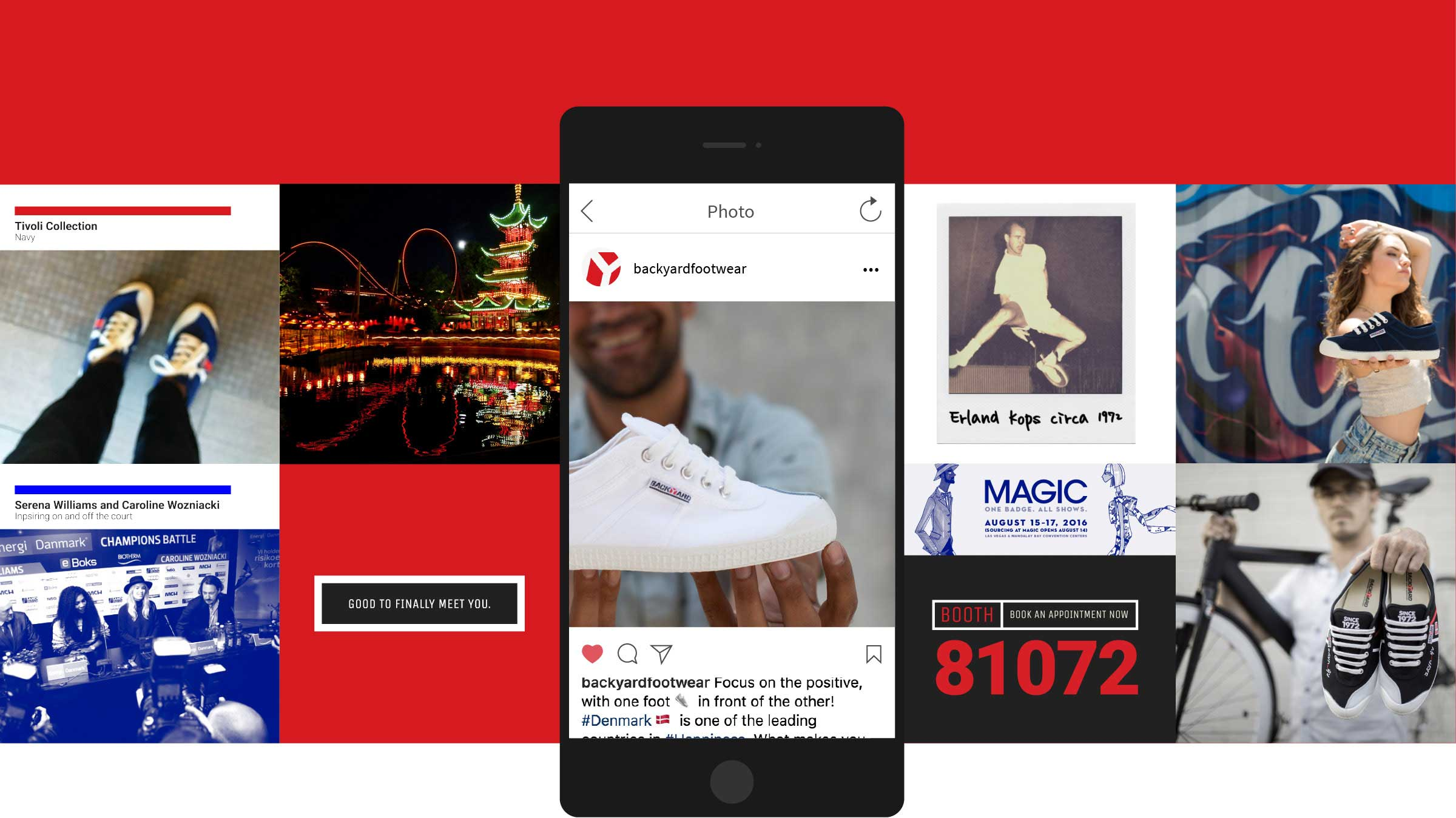 Backyard Footwear Social Media Campaign