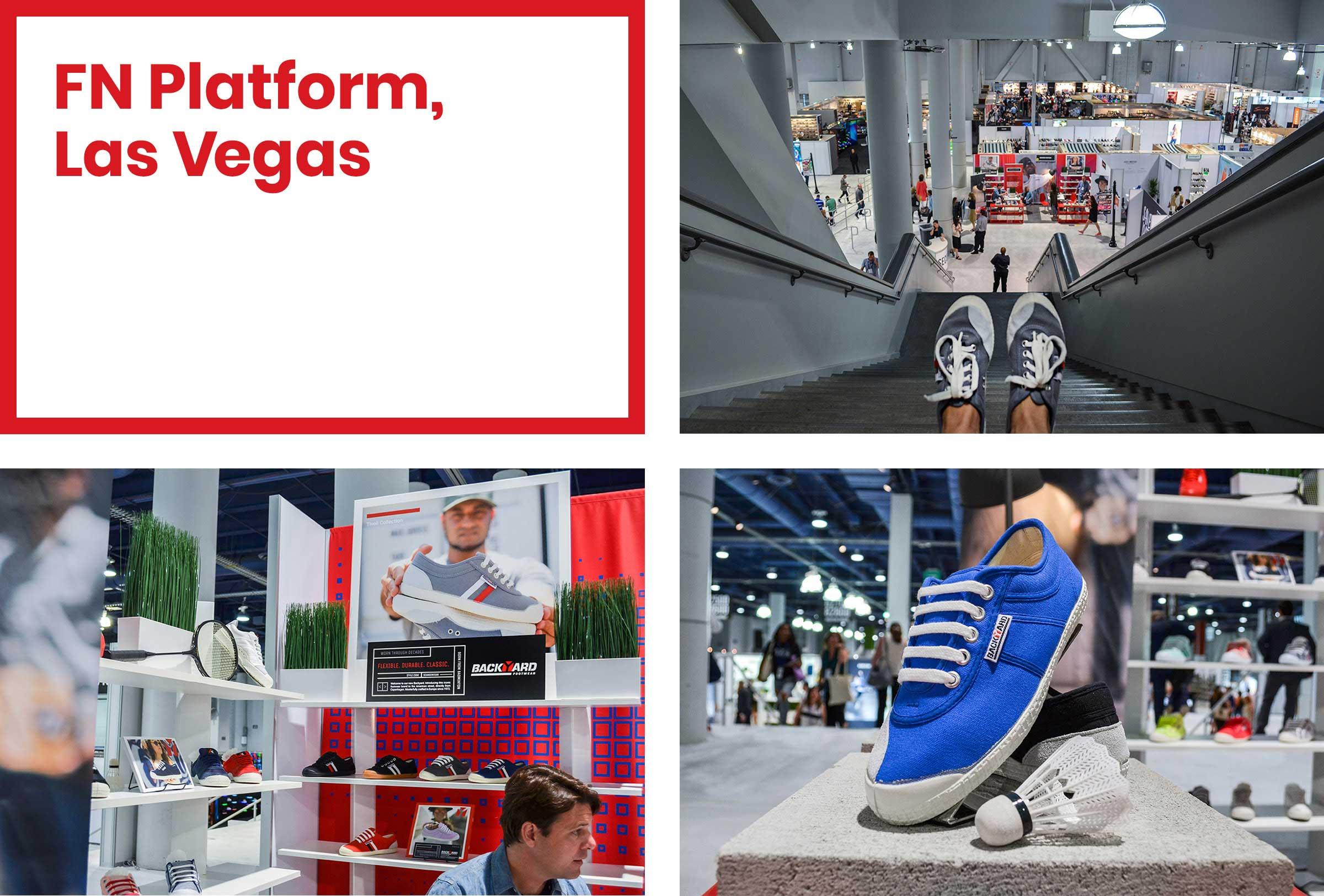 Backyard Footwear FN Platform Las Vegas Exhibit Award