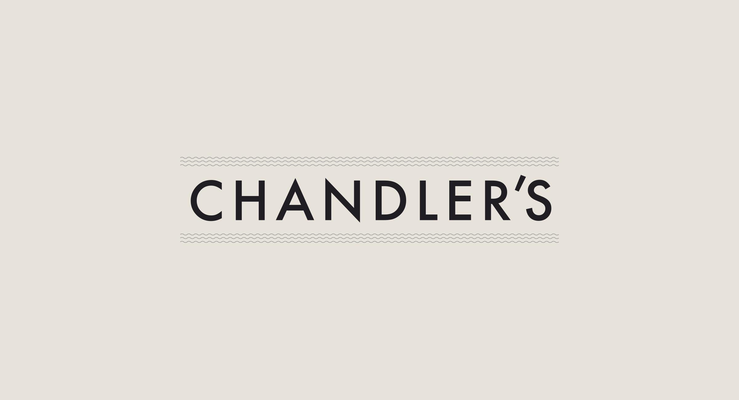 Hilton Chandler's Restaurant Identity