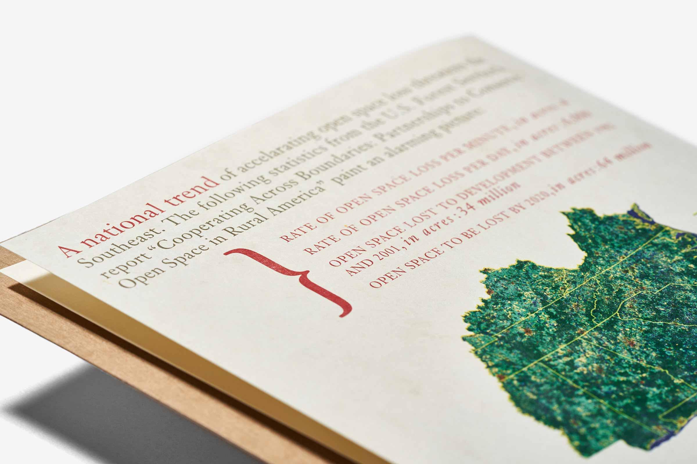 Wilderness Society Typography Detail