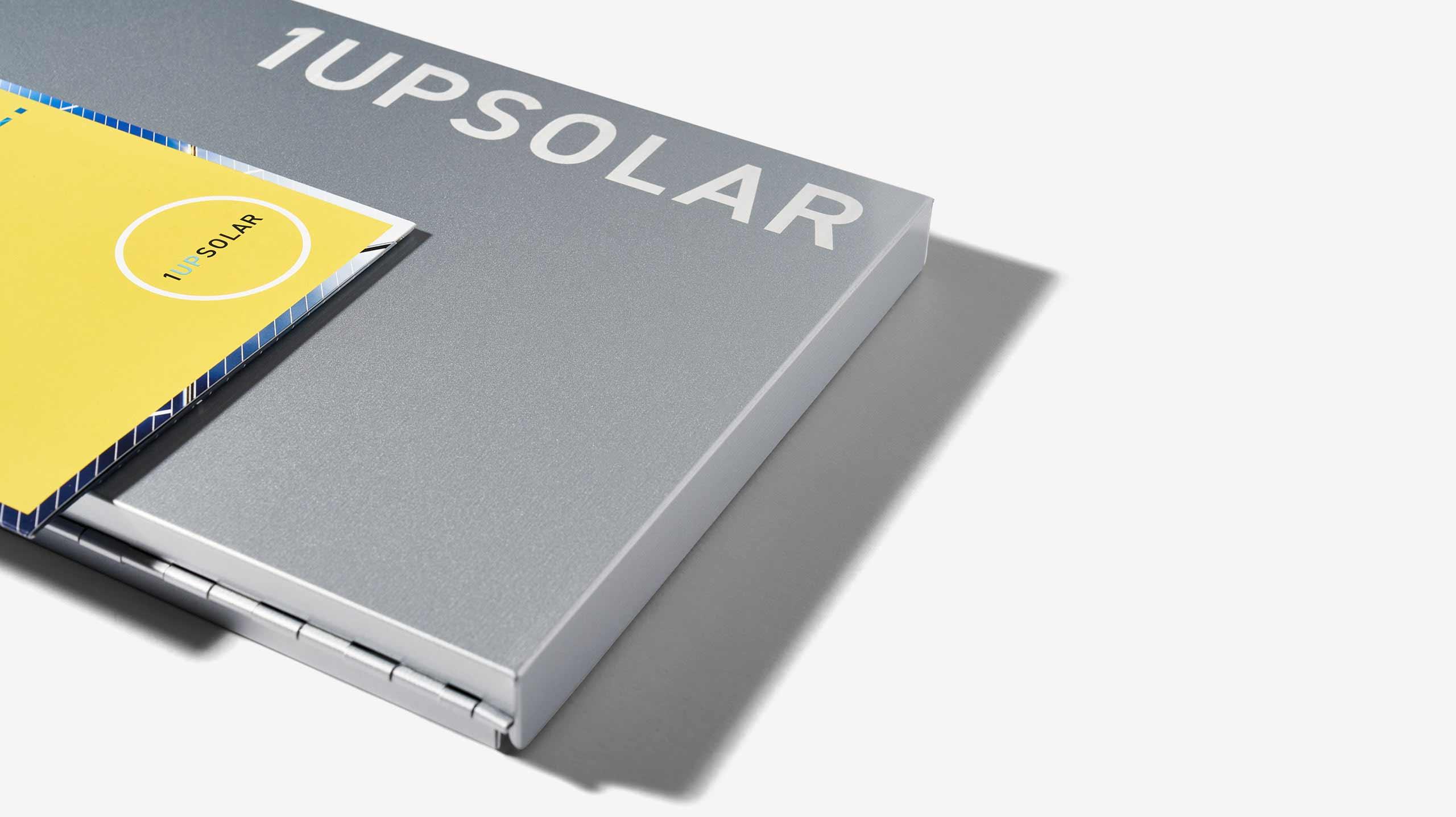 1UpSolar Street Team Aluminum Etched Folder