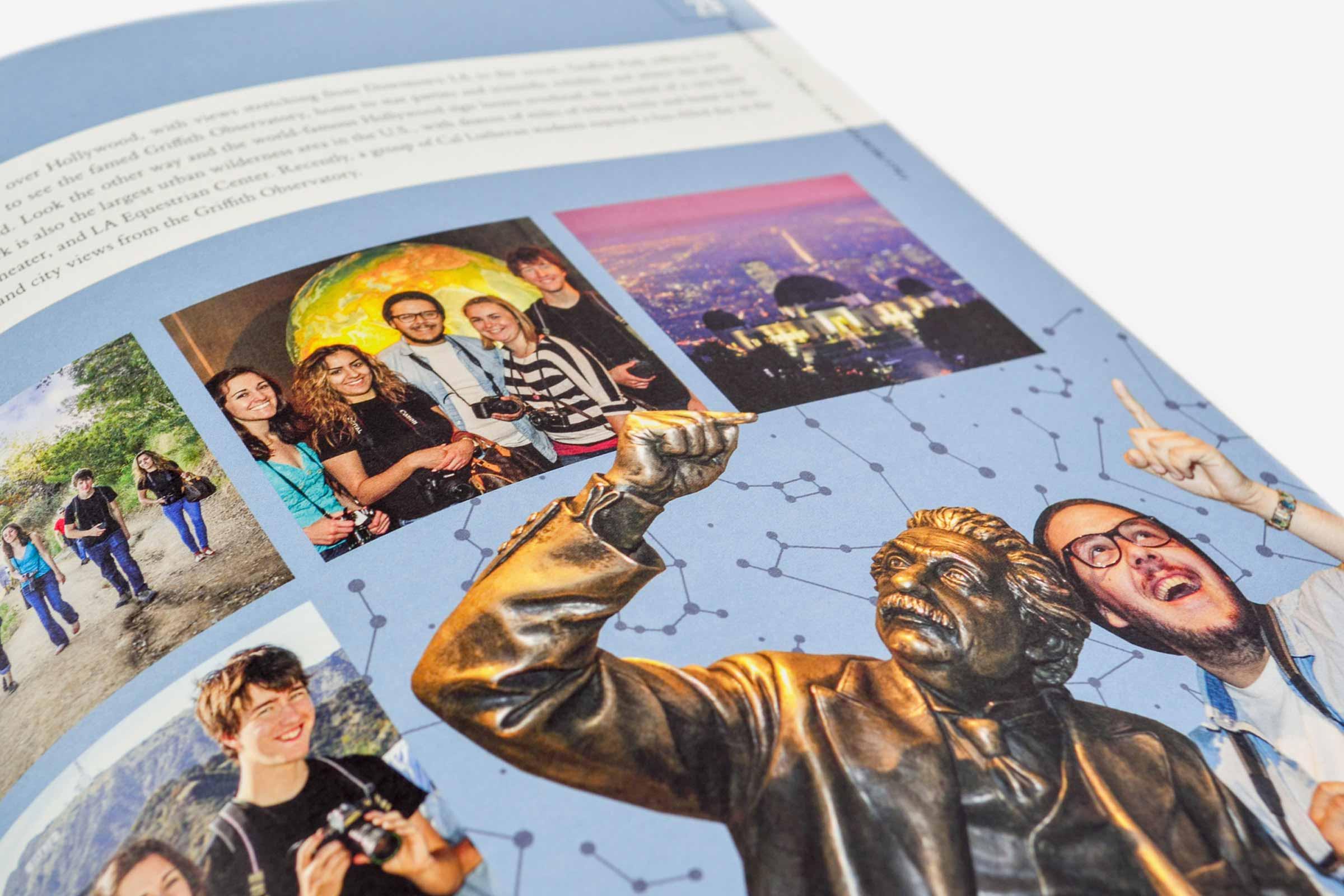 Cal Lutheran Editorial Magazine Spread