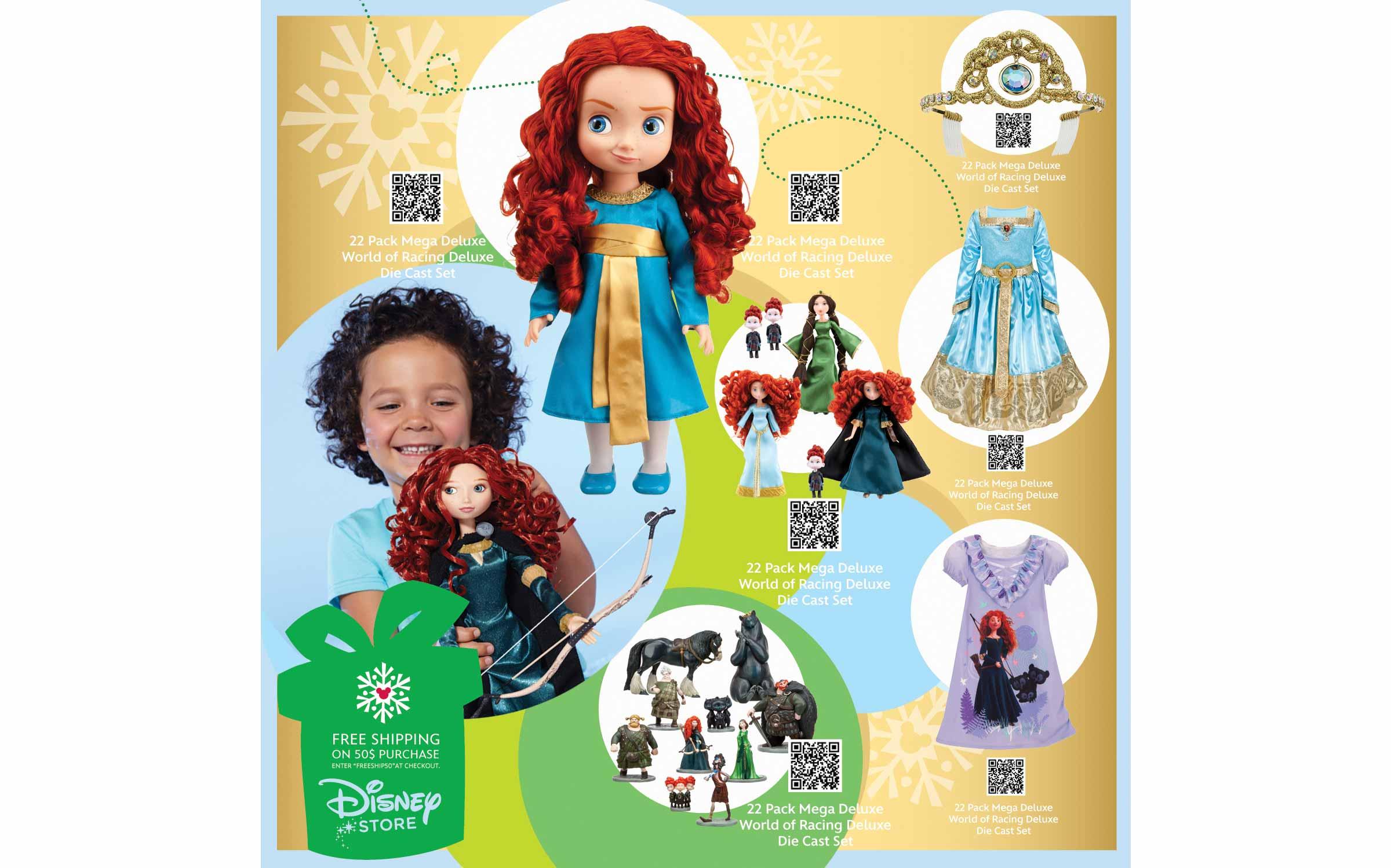 Disney Store North America Holiday Cube