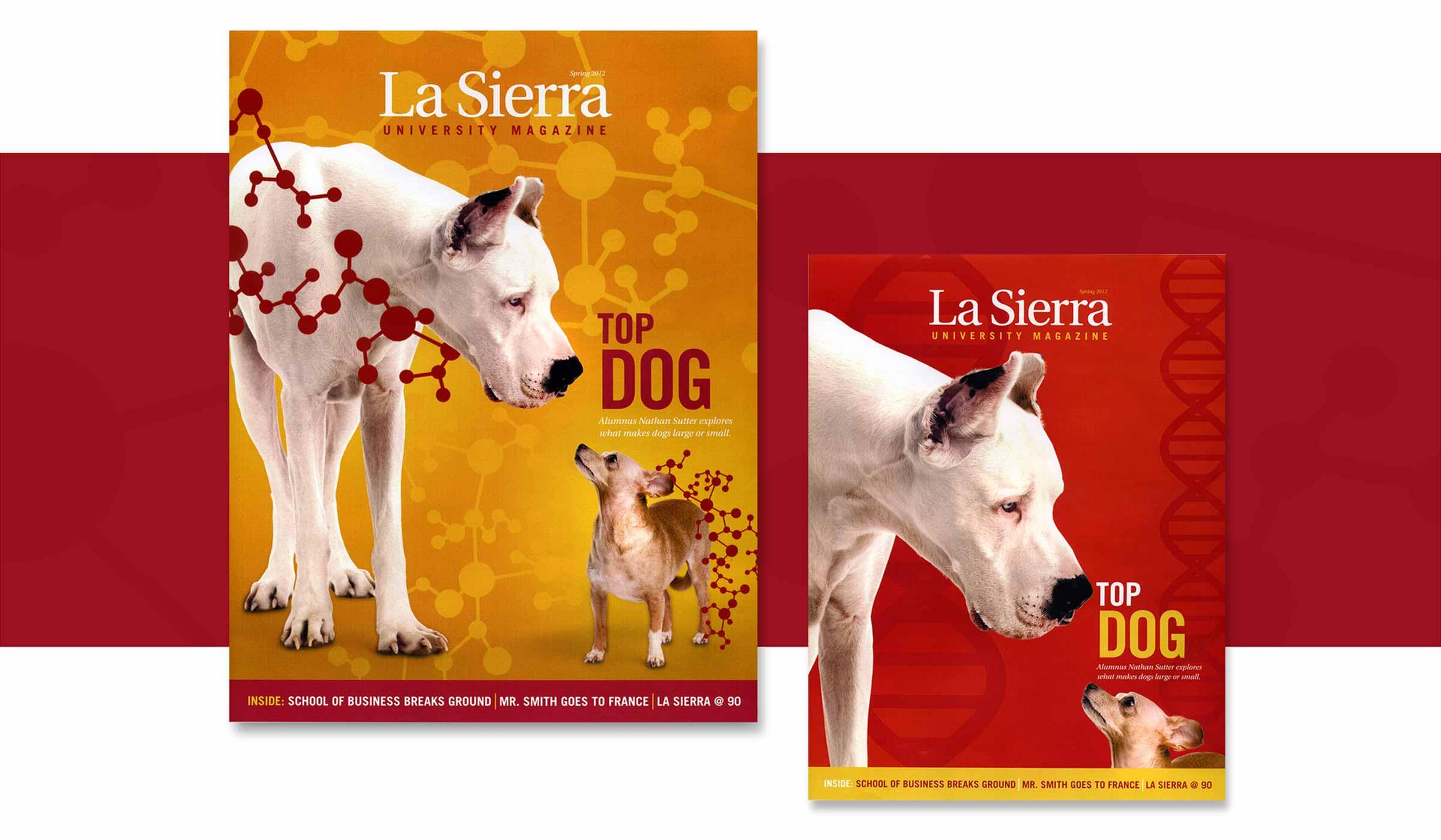 La Sierra University Magazine Covers
