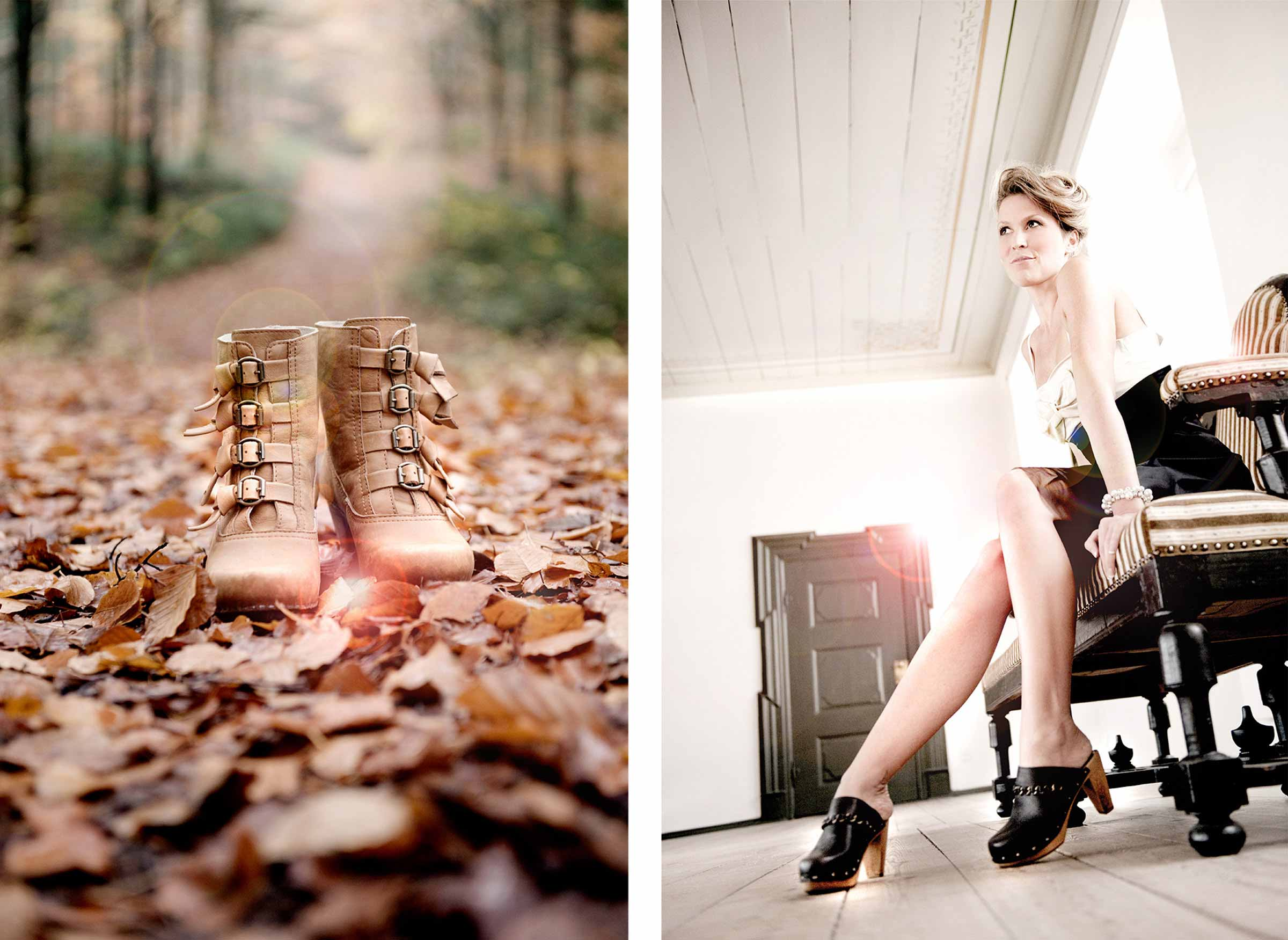 Sanita Shoes Digital Retouching