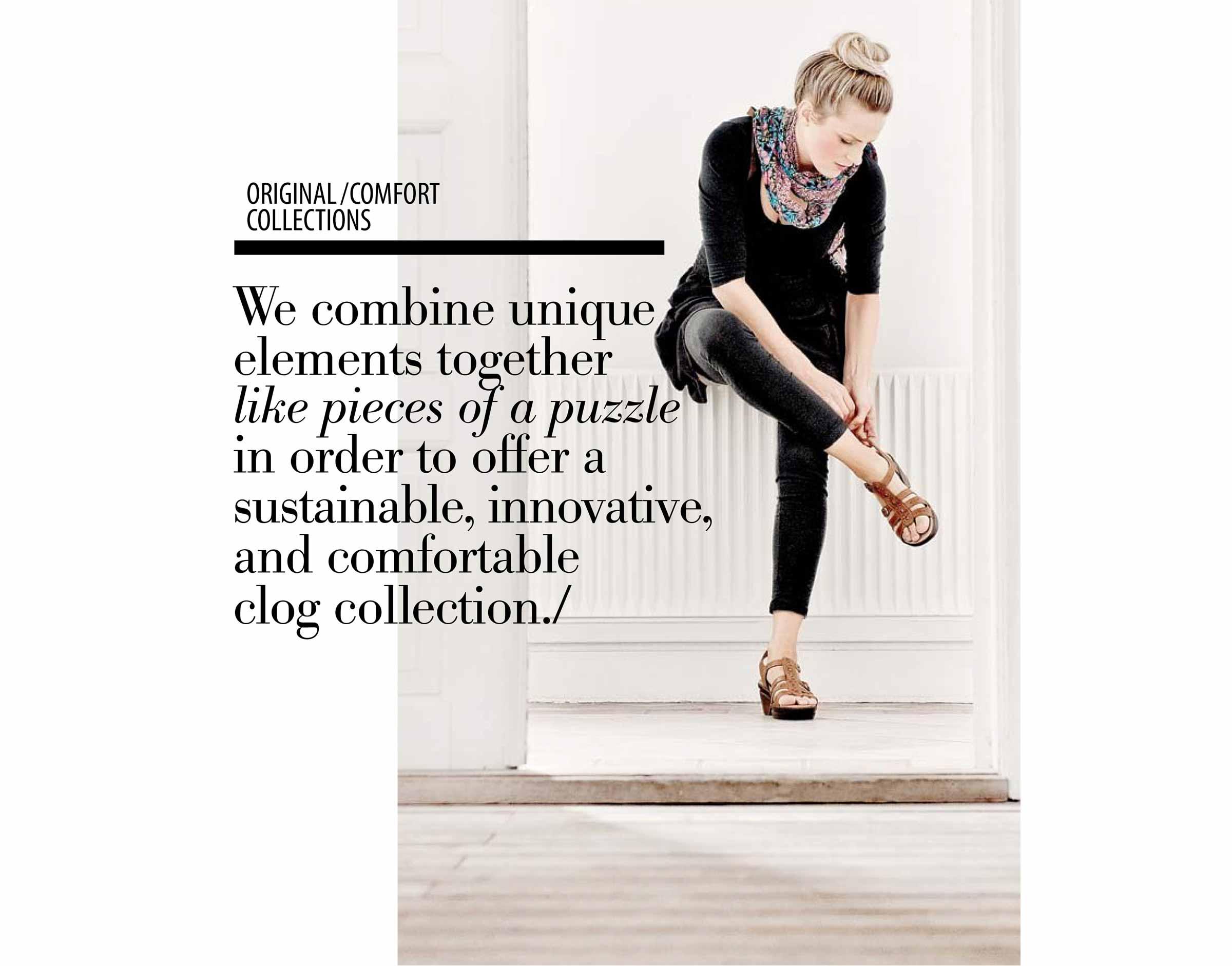 Sanita Shoes Catalog Editorial Design