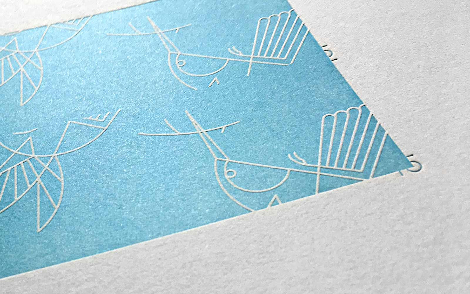 Aeries Letterpress Business cards