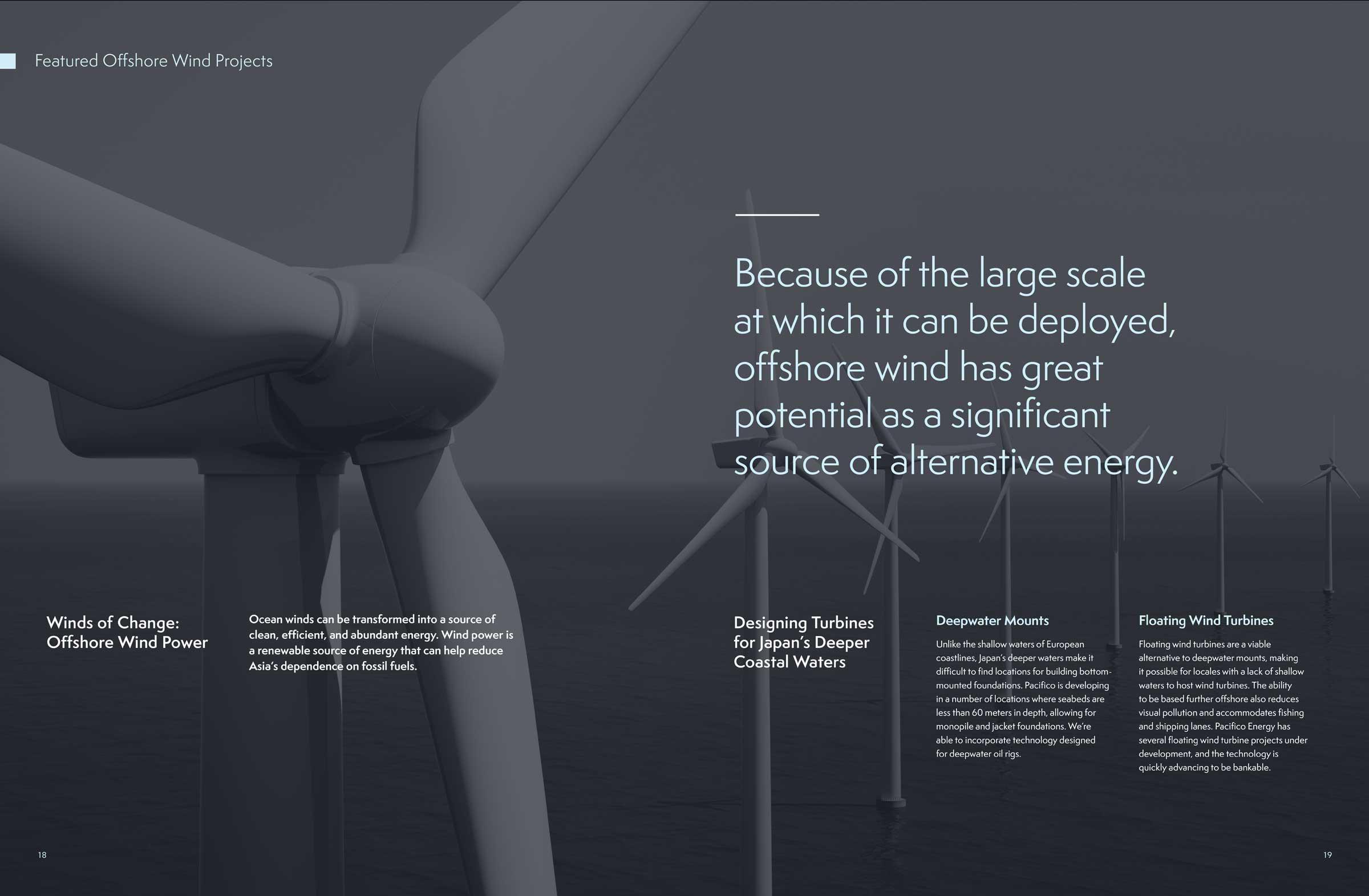Pacifico Energy Brochure Spread