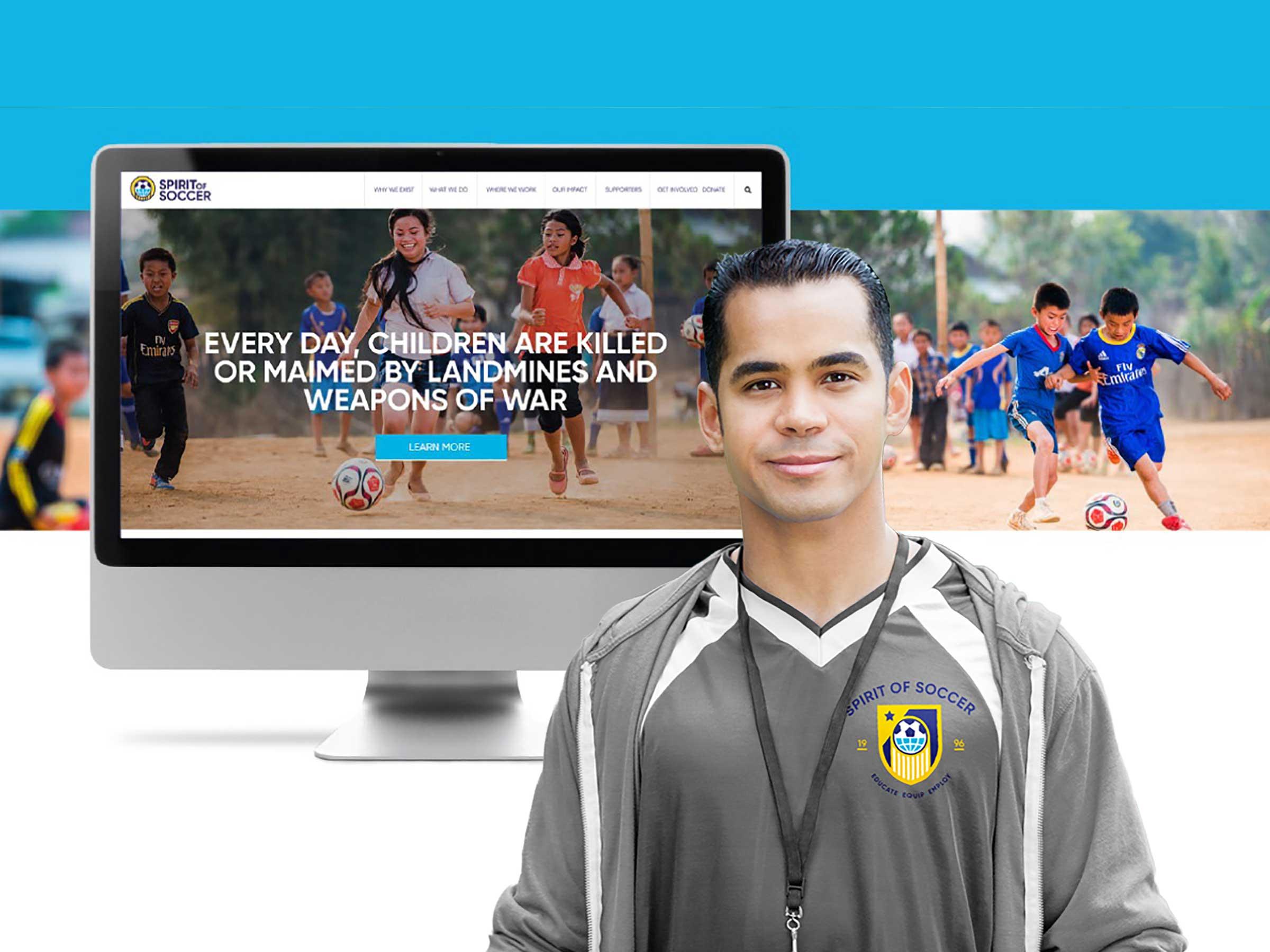 Spirit of Soccer Website Design